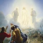 Jesus förhärligad
