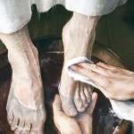 Tvättar vi varandras fötter?
