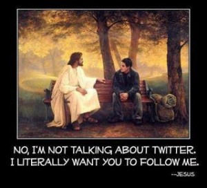 Jesus söker nya följare!