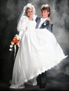 Tomas och Mia Silverbröllop 2016