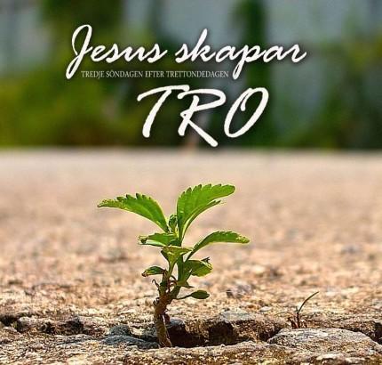 Jesus skapar tro