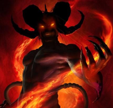 Djävulen finns fast han inte syns